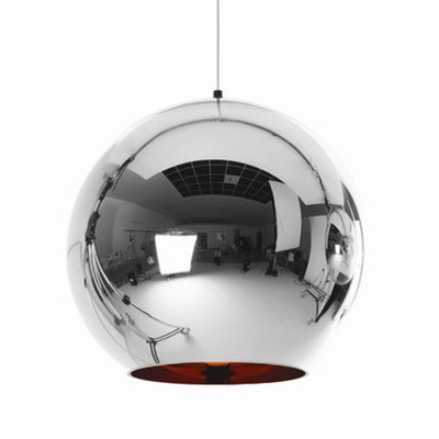 Chrome Ball Pendant Light Copper/Gold/Silver 17.71