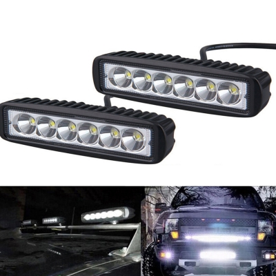 7 inch led work light bar 18w cree led spot beam led for off road 7 inch led work light bar 18w cree led spot beam led for off road 4x4 aloadofball Gallery