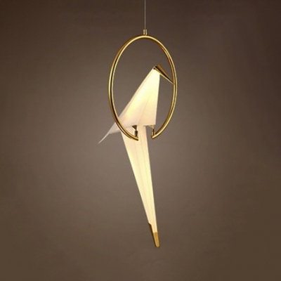 Vivid Bird Pendant Light 1-Lt