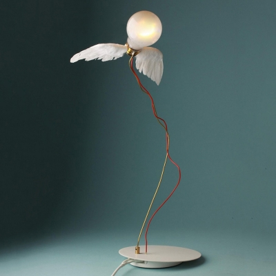 Feather Wings Table Lamp White HL440018 фото