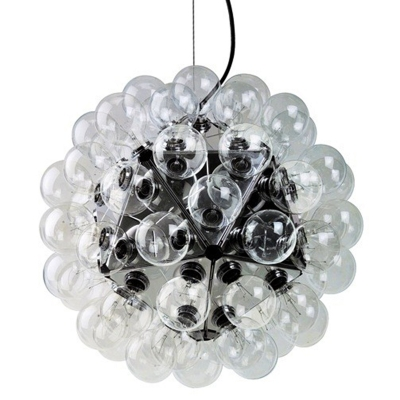 sputnik ball chandelier, 60 lights