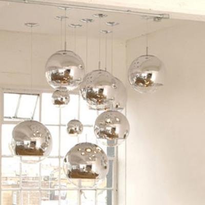 Mirror Ball Floor Lamp Chrome