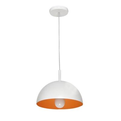 ... Dome Pendant Light Chrome/Blue/Orange ...