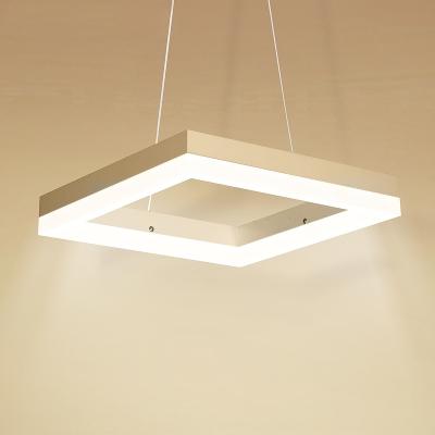 Square LED Suspension 12''