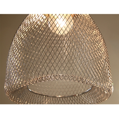 Mesh Cage Pendant Light