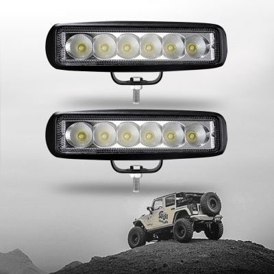 7 inch led work light bar 18w flood beam for off road 4wd jeep truck 7 inch led work light bar 18w flood beam for off road 4wd jeep truck atv aloadofball Gallery