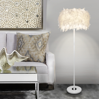 Feathers Floor Lamp, 59'' Height