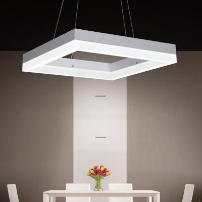 Linear LED Flat Suspension 24''