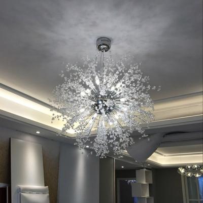 Crystal Beads Sputnik Pendant Light ... & Crystal Beads Sputnik Pendant Light 23.6 Inch - Beautifulhalo.com azcodes.com
