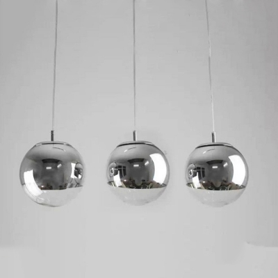 official photos bf655 0003b Ball Multi-Light Pendant Mirror Silver