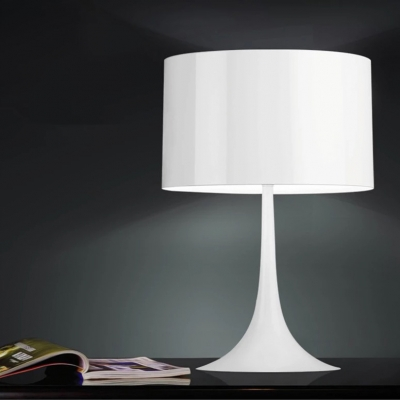 Table lamp minimal white black