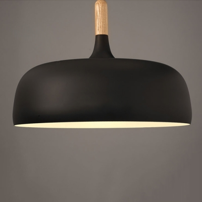 Wood Fashion Pendant Light 19''