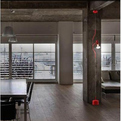 """Novelty Microphone Design Adjustable Designer Floor Lamp 137.7""""High"""