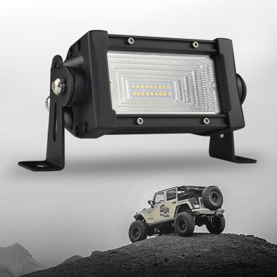 7d 5 inch led work light bar 54w osram 150 degree flood beam for 7d 5 inch led work light bar 54w osram 150 degree flood beam for offroad 4x4 mozeypictures Images