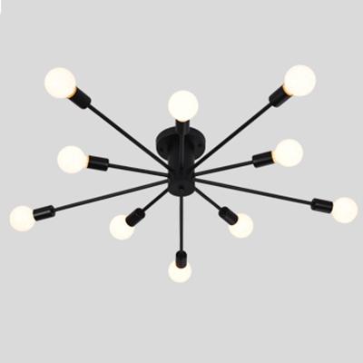 Modern Chandelier Sputnik Style, 10 Lights