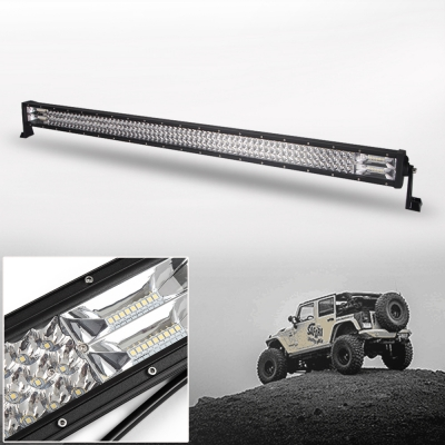 "20/"" INCH 126W CREE LED WORK LIGHT BAR SPOT FLOOD COMBO OFFROAD 4WD TRUCK ATV SUV"