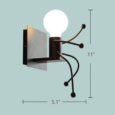 Modern Creative Cartoon LED Wall  Lamp