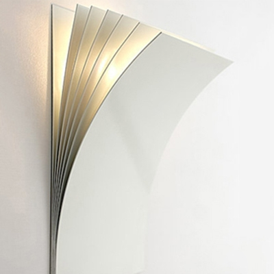 Modern Wall Sconce Pages White 8 2