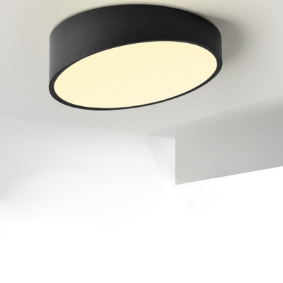 Round Cut Led Surface Mount Light Modern 23 6 Inch