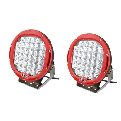 9 Inch LED Work Light 96W Cree LED 30 Degee Spot Beam For Off Road 4WD Jeep Truck ATV SUV Pickup Boat, 2 Pcs