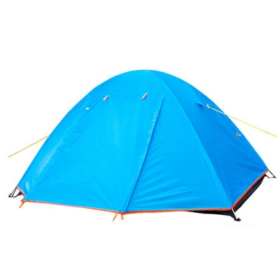 Image of 2 Door 3-Season Backpacking Water-Proof 2-Person Dome Tent, Blue