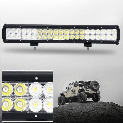 20 Inch Off Road LED Light Bar CREE LED 126W 30 Degree Spot 60 Degree Flood Combo Beam Car Light For Off Road, Truck, 4WD, BOAT, JEEP