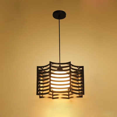 hanging pendant lighting. Industrial Hanging Pendant Lamp 1 Light With Octangle Shade In Black Or White Lighting G