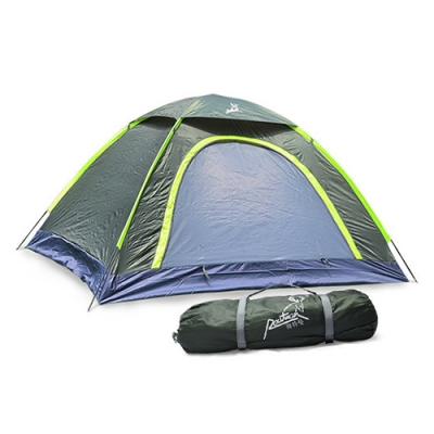 Image of 2-Person Camping Moth-Proof 3-Season Backpack Dome Tent (Army Green)