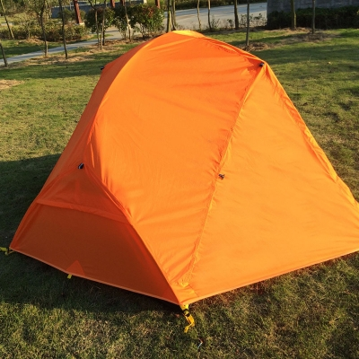 ... Double Layer Ultralight 2-Person Backpacking Waterproof 4-Season Dome Tent Orange & Double Layer Ultralight 2-Person Backpacking Waterproof 4-Season ...