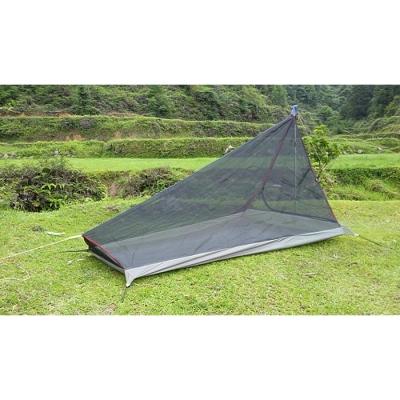Купить со скидкой Anti-Mosquito Net Campig Bed 1-2 Persons 3 Season Pyramid Net Lightweight Black