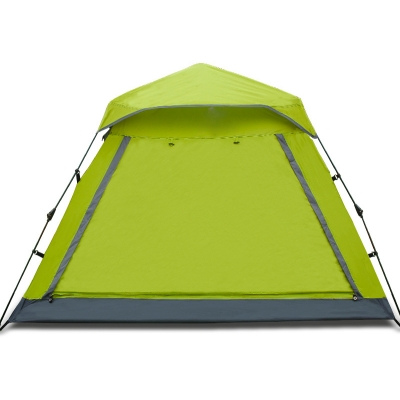 Easy up Lightweight 4-Person Family 3-Season Water Resistant Camping Cabin Instant Tent, Green, CH444358
