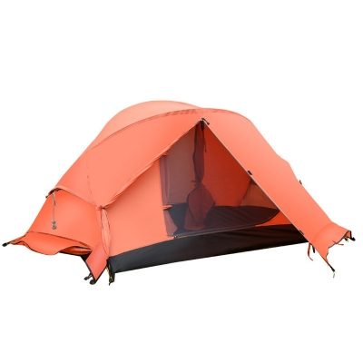 Durable High Quality 4-Season 2-Person Geodesic Tent for Camping, Hiking and Fishing, CH444389