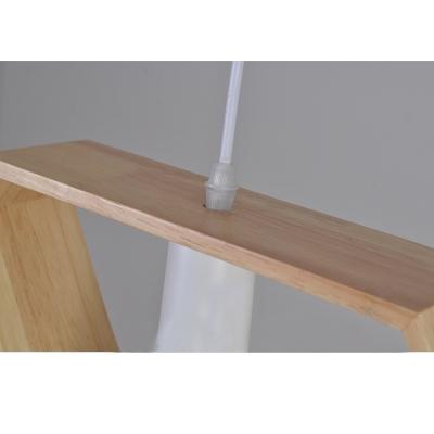 Industrial Single Pendant Light Triangle Frame Indoor