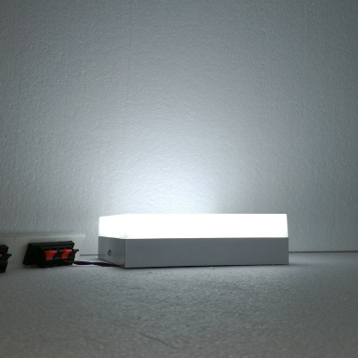 LED Table Lamp Square, 7 Inch