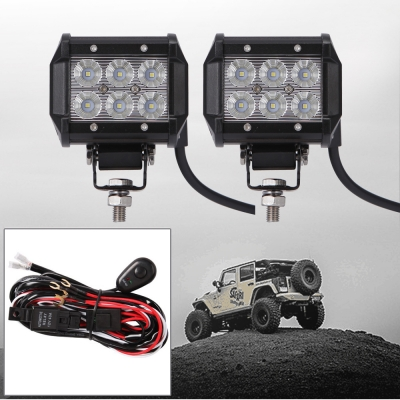4 inch off road led light bar 18w 30 degree spot beam car light for 4 inch off road led light bar 18w 30 degree spot beam car light for off aloadofball Images