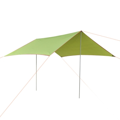 Image of 10-ft x 10-ft Outdoor Tent 5-8 Persons 3 Season Tarp Shelter Waterproof Rip-Stop Tent Green