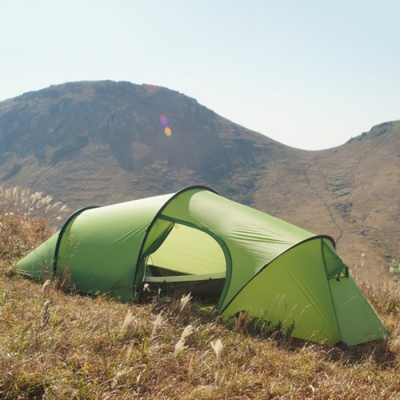 ... Green High Quality Nylon 2-Person 4-Season Mountaineering C&ing Tunnel Tent ... & High Quality Nylon 2-Person 4-Season Mountaineering Camping Tunnel ...