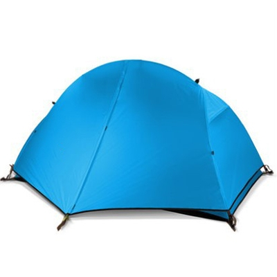 Image of 1-Person Cycling Backpacking 3-Season 150D Polyester Layer Dome Tent