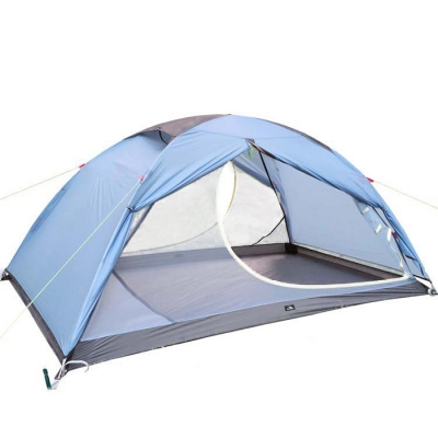 Lightweight Moth Proof 2-Person Double Layer 3-Season Dome Tent with Carry Bag (Blue CH444781 фото