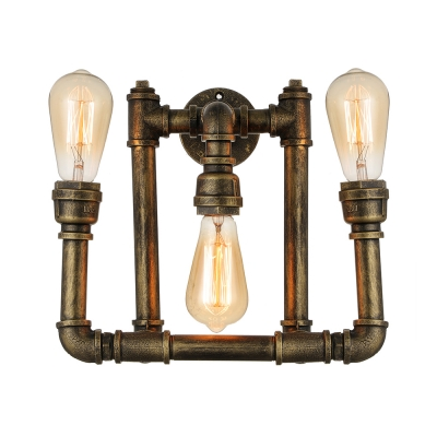 swing designs industrial edison shades awesome sconce wall exposed light of single in bulb idea arm