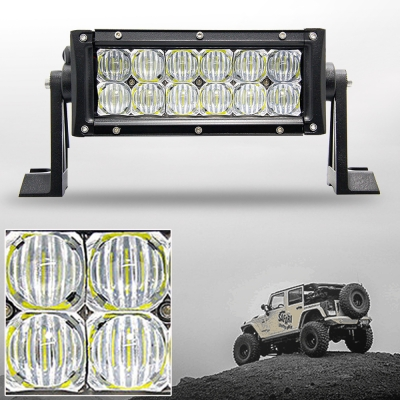 5d 7 inch off road led light bar cree led 36w 60 degree flood beam 5d 7 inch off road led light bar cree led 36w 60 degree flood beam car mozeypictures Images