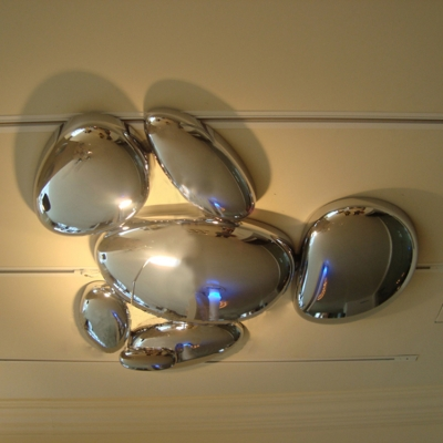 Futuristic Aluminium Ceiling Lights Fixture LED