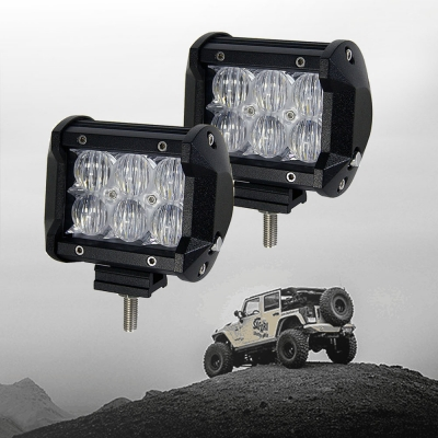 5d 4 inch off road led light bar cree led 18w 60 degree flood beam 5d 4 inch off road led light bar cree led 18w 60 degree flood beam car aloadofball Images