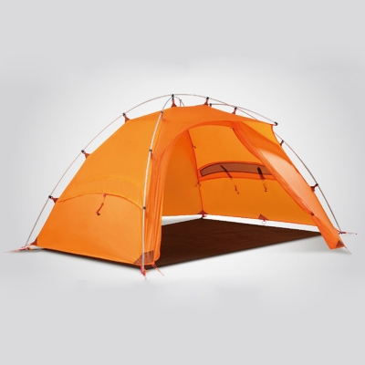... Orange 4-Season 2-Person Windproof C&ing Mountaineering Dome Tent ... & Orange 4-Season 2-Person Windproof Camping Mountaineering Dome ...