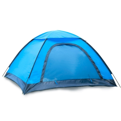 Image of 2-Person Camping Moth-Proof 3-Season Backpack Dome Tent (Blue)