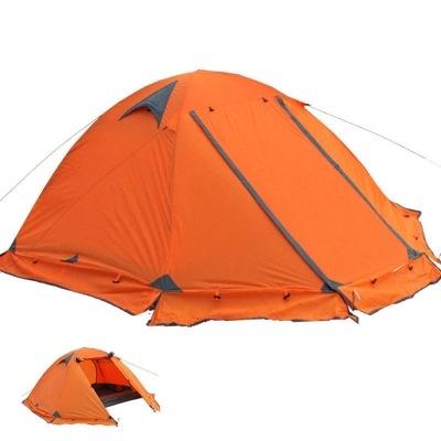 Double Layer Water Resistant 4-Season 2-Person Dome Tent for C&ing Hiking ...  sc 1 st  Beautifulhalo & Double Layer Water Resistant 4-Season 2-Person Dome Tent for ...