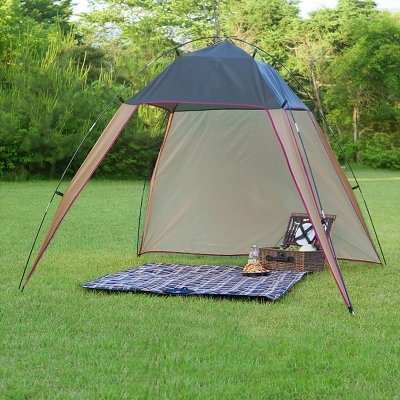 Outdoor Triangular Design Easy-Up Tent 4 Persons 3 Season Sunshade Shelter Lightweight ... & Outdoor Triangular Design Easy-Up Tent 4 Persons 3 Season Sunshade ...
