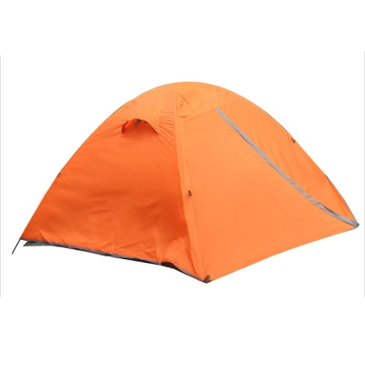 3-Season Water Resistant Backpacking 2-Person Dome Tent in Orange, CH444099