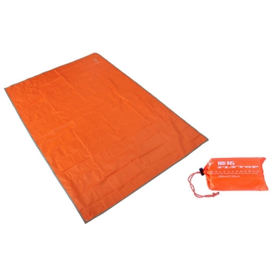 Image of 2-Person Footprint for Camping and Hiking (Orange)