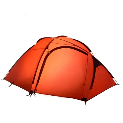 Easy up Lightweight 3-Person C&ing Waterproof 3-Season Geodesic Tent- Orange ...  sc 1 st  Beautifulhalo & Easy up Lightweight 3-Person Camping Waterproof 3-Season Geodesic ...